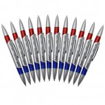 Swirl Ink Pens Red/Blue Combo 12 Per Pack PK2 ZO48137652